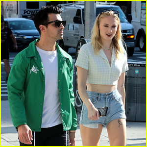 Sophie Turner Joins the Jonas Brothers During Their Day Off from Tour