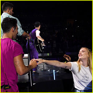 Sophie Turner Fangirls for Joe at Jonas Brothers' Madison Square Garden Show