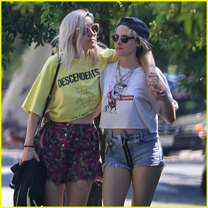 Kristen Stewart Spends Monday Morning with New Girlfriend Dylan Meyer