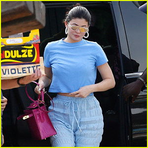 Kylie Jenner Heads to Monte Carlo on Her Birthday Trip