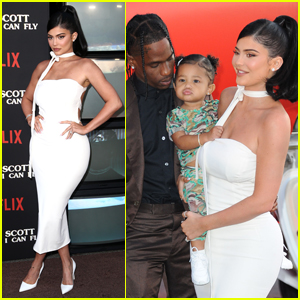 Kylie Jenner & Daughter Stormi Attend Travis Scott's 'Look Mom I Can Fly' Premiere!