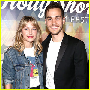 Melissa Benoist & Chris Wood Hit First Red Carpet Together Since Getting Engaged!