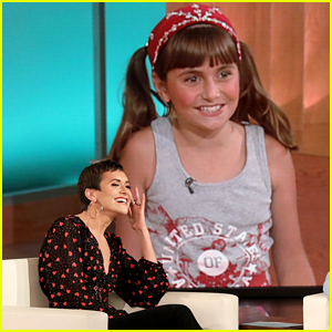 Alyson Stoner Reacts To Her First Appearance on 'Ellen' - Watch Here!