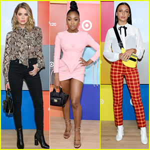 Ashley Benson & Normani Celebrate Target's 20th Anniversary in NYC