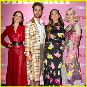 Netflix's 'The Politician' Stars Glam Up in London!