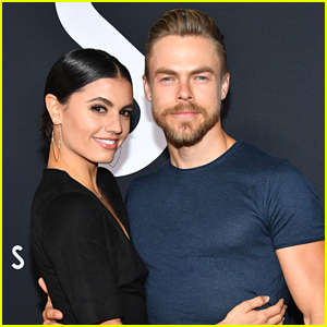 Hayley Erbert Stays By Derek Hough's Side As He Undergoes Emergency Surgery