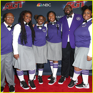 Detroit Youth Choir Hit The Red Carpet With Kodi Lee & Tyler Butler-Figueroa After AGT Finals