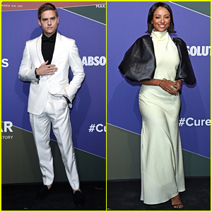 Dylan Sprouse & Kat Graham Raise Money For AIDS Research at amfAR Gala Milan
