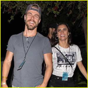 Hayley Erbert Enjoys Date Night Out With Derek Hough at Queen Mary's Dark Harbor Halloween Carnival