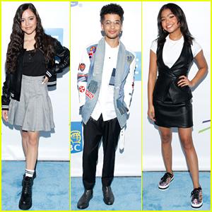 Jenna Ortega, Navia Robinson & Jordan Fisher Take The Stage at WE Day Toronto