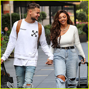 Jesy Nelson Promotes Her BBC Documentary 'Odd One Out' in London