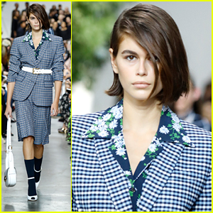 Kaia Gerber Hits The Runway For Michael Kors Collection with Gigi & Bella Hadid