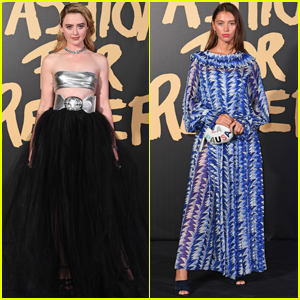 Kathryn Newton & Iris Law Show Their Style at Fashion For Relief 2019