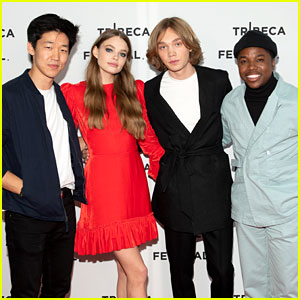 Kristine Froseth & Charlie Plummer Step Out for 'Looking for Alaska' NYC Screening!