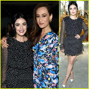 Lucy Hale Reunites With 'Fantasy Island' Co-Star Maggie Q at Jason Wu Fashion Show