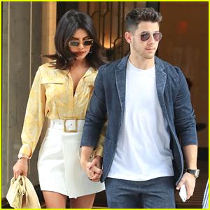 Nick Jonas & Priyanka Chopra Step Out After Mind Blowing Hershey Park Concert