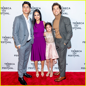 Emily Tosta & 'Party of Five' Cast Step Out For Tribeca TV Festival 2019