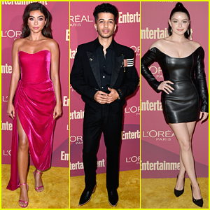 Sarah Hyland Joins Familiar Faces at EW's Pre-Emmys Party