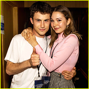 Dylan Minnette & Lydia Night Make It a Spooky Date Night Out at Halloween Horror Nights