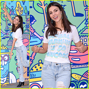 Victoria Justice Makes A Pledge To Help Save Planet Earth