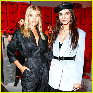 Victoria Justice & Sofia Richie Step Out in Style for Rebecca Minkoff Fashion Show