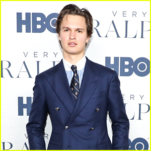 Ansel Elgort Looks Sharp at 'Very Ralph' Premiere