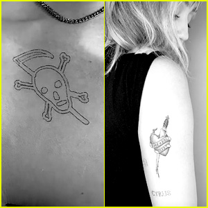 Miley Cyrus & Cody Simpson Get New Ink Together in Los Angeles