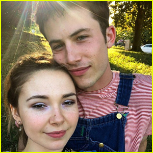 Dylan Minnette Pens Sweet Birthday Note For Girlfriend Lydia Night