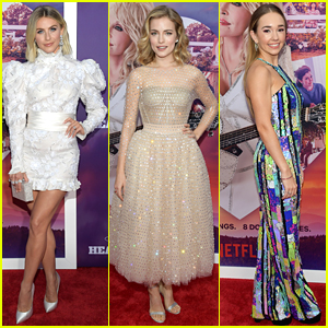 Julianne Hough & Willa Fitzgerald Premiere 'Dolly Parton's Heartstrings' at Dollywood