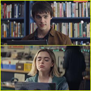 Mitchell Hope Has The Hugest Crush on Kiernan Shipka In The First Trailer For 'Let It Snow'