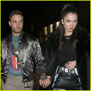 Liam Payne & Girlfriend Maya Henry Hold Hands on Date Night!