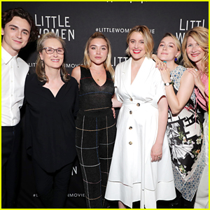 Timothee Chalamet Joins 'Little Women' Co-Stars at Special Screening Event