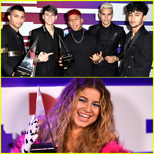 CNCO & Sofia Reyes Win Big at Latin AMAs 2019!