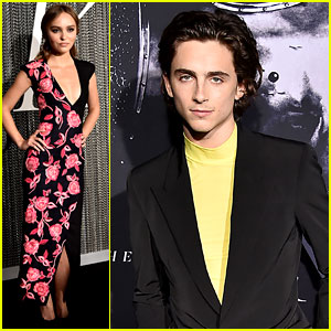 Timothee Chalamet Suits Up for 'The King' NYC Premiere with Lily-Rose Depp!