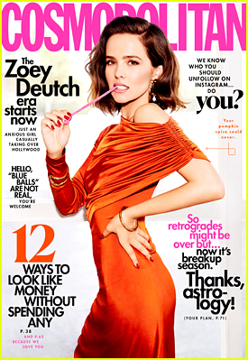 Zoey Deutch Says Her Anxiety Is Her 'Key Motivator'