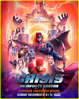 The CW Releases First Poster & Descriptions For 'Crisis on Infinite Earths' Crossover