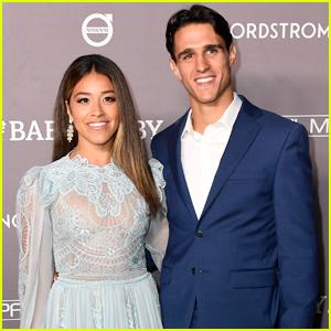 Gina Rodriguez Couples Up With Husband Joe LoCicero at Baby2Baby Gala 2019!
