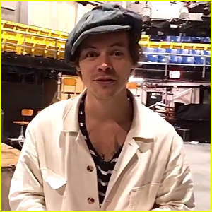 Harry Styles Runs Away In This Short Promo For 'SNL'