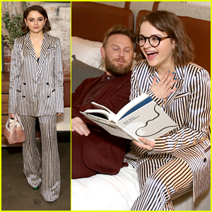 Joey King Steps Out For Bobby Berk's Furniture Collection Launch in LA