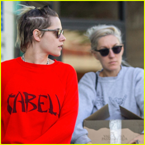 Kristen Stewart Steps Out to Do Some Shopping with Girlfriend Dylan Meyer