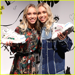 Lisa & Lena Celebrate Their New Shoe Collection & Be Yourself #NotLiked Campaign