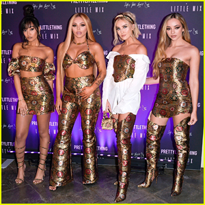 Little Mix Throw Fashion Party For Their PrettyLittleThing Collection Launch