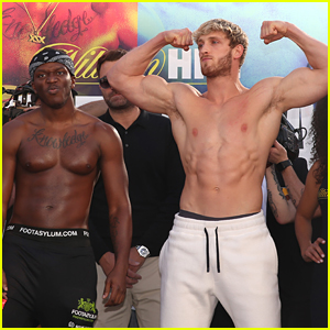 Logan Paul Goes Shirtless At Weigh-In Before Fight With KSI