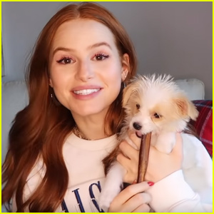 Madelaine Petsch Adopts Adorable Puppy Named Olive!