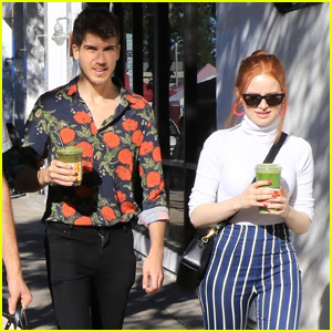 Madelaine Petsch Meets Up With Joey Graceffa For Brunch!