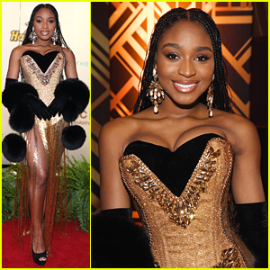 Normani Goes Golden at Shawn Carter Foundation Gala