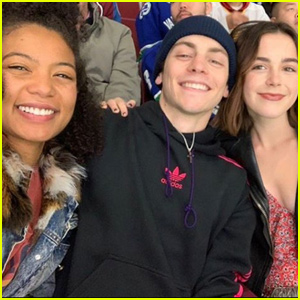 Ross Lynch Has a Night Out With 'Sabrina' Co-Stars Kiernan Shipka & Jaz Sinclair
