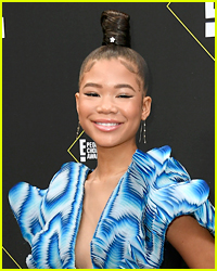 Storm Reid Was Totally Starstruck By This Actor On 'The Suicide Squad' Set