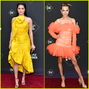 The 100's Marie Avgeropoulos & Anne Winters Attend People's Choice Awards 2019