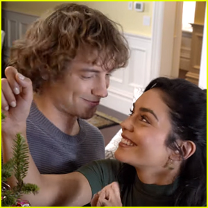 Vanessa Hudgens Falls Head Over Heels With A Time-Traveler in 'The Knight Before Christmas' Trailer